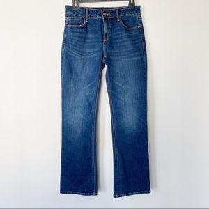 Old Navy Boot-cut Jeans Blue Size 6 Short